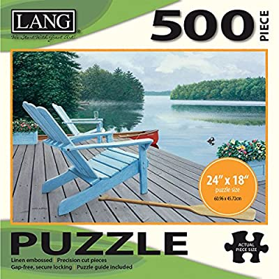 Jigsaw Puzzle 500 Pieces 24x18 Lakeside Retreat