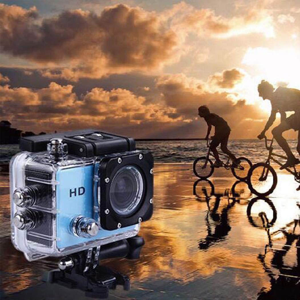 ilonti HD 1080P Deportes al Aire Libre c/ámara DV grabadora Impermeable C/ámaras