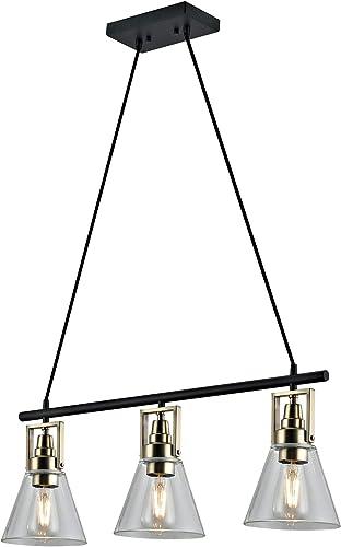 Addington Park 31787 Granada Collection 3-Light Modern Industrial Pendant