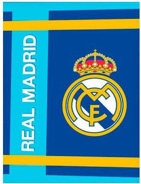 Real Madrid Manta coralina Premium 250gr (100-296), Multicolor, 130x160: Amazon.es: Hogar