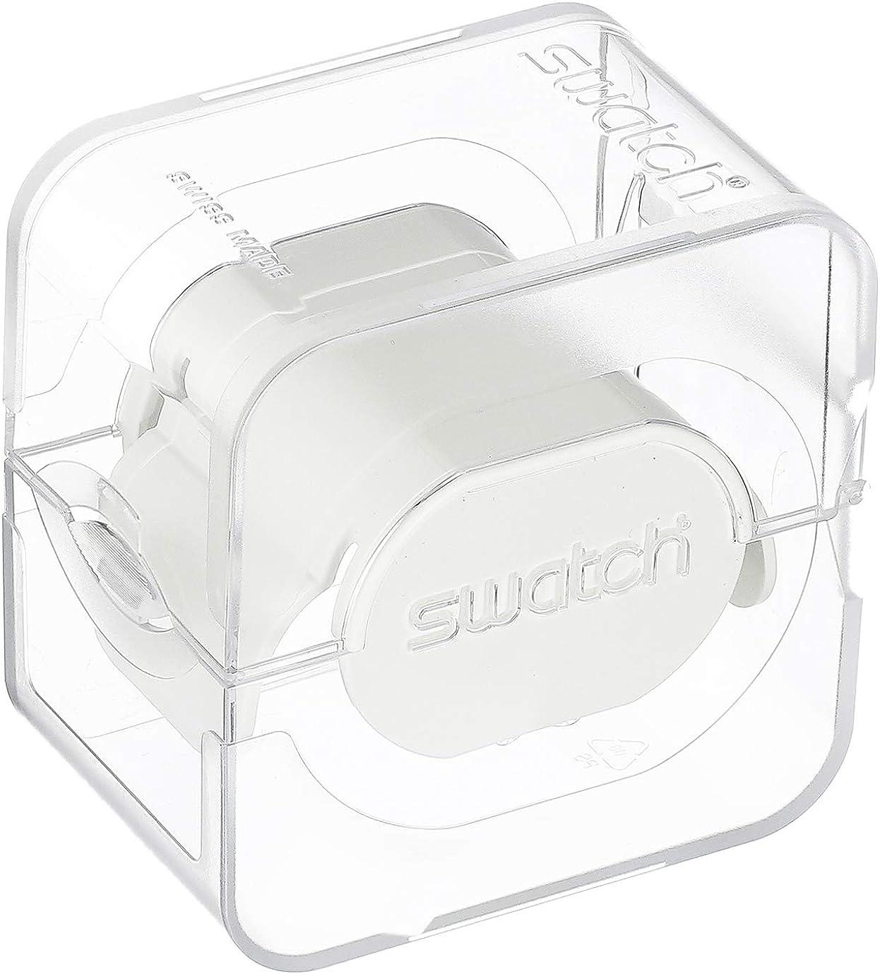 Swatch Big Bold Quartz Silicone Strap Black