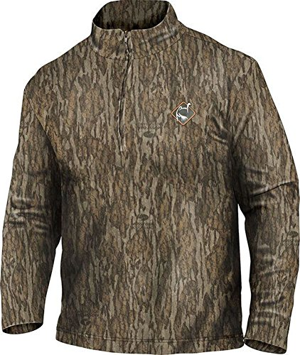 Ol39;Tom Performance 1/4 Zip Long Sleeve Shirt - Bottomland (X-Large)