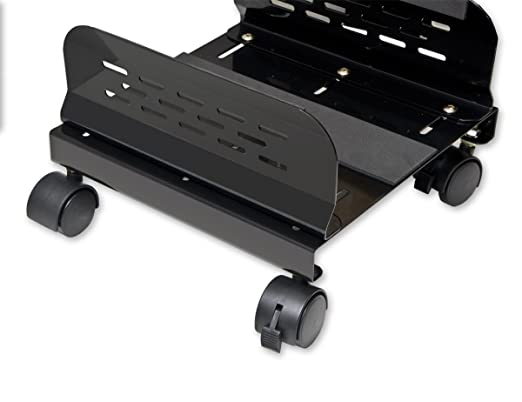 Amazon.com: Base del equipo de acero para ATX Caso Ancho ajustable y 4 Ruedas para carritos (SY-ACC65057): Health & Personal Care