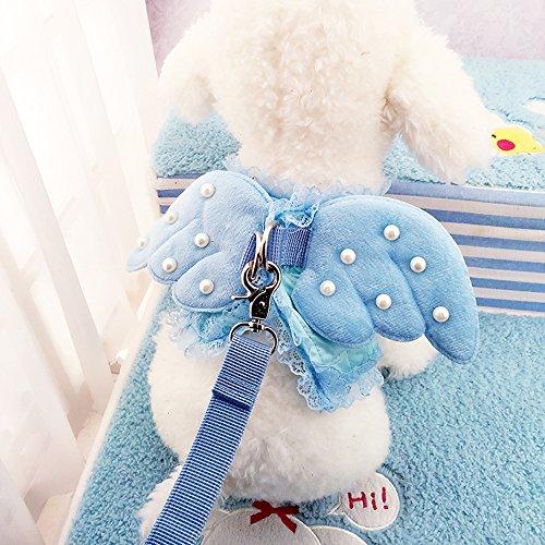 Ruri's Cat Kitty Puppy Dog Walking Vest Harness Matching ...
