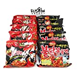 #6: Fusion Select Samyang Top Two Spicy Chicken Hot Ramen noodle Buldak Variety 10 pack (5 each:Hek Nuclear,Original)