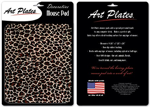 Leopard Print Mouse Pad - By Art Plates Photo #4