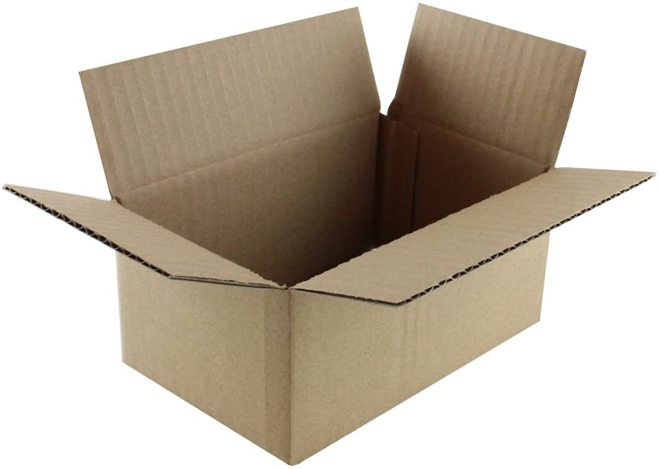 """5 x 3 x 3/"""" Corrugated Shipping Mailers from The Boxery 50//pk"""