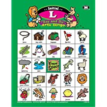 """Say and Do Artic Bingo Sound Game Letter """"L"""" - Super Duper Educational Learning Toy for Kids"""