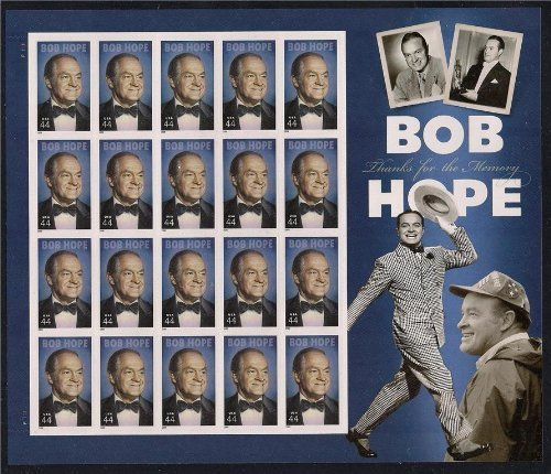 Bob Hope Thanks for the Memory Mint Sheet of Twenty 44 Cent Stamps Scott 4406 by USPS ()