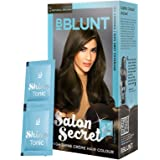 BBLUNT Salon Secret High Shine Crème Hair Colour, Natural Brown 4.31, 40g