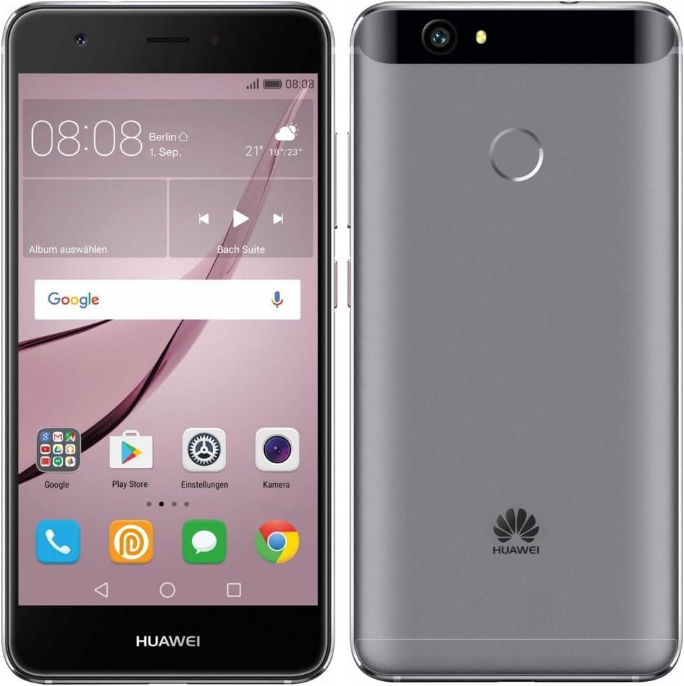 "Huawei Nova Single SIM 4G 32GB Silver - Smartphones (12.7 cm (5""), 32 GB, 12 MP, Android, 6.0, Silver)"
