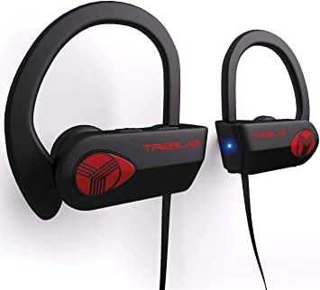 TREBLAB XR500 Bluetooth Headphones, Best Wireless: