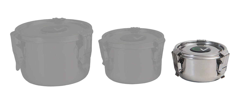 CVault versch.Größen Vakuum Dose Storage Container HumidityControl Boveda 62/%