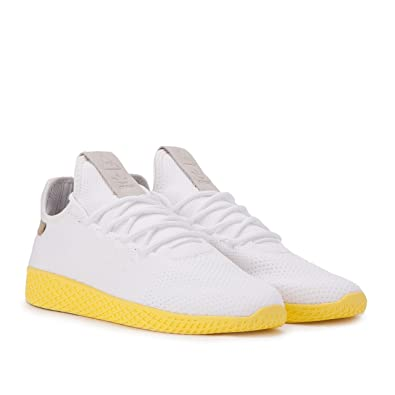 825b58491 adidas Originals Pw Tennis Hu Mens Trainers White Green - White ...