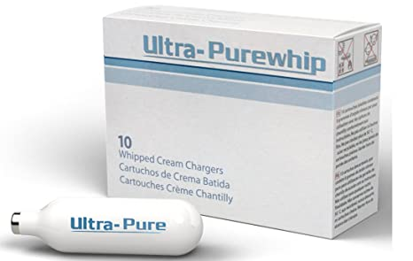 Creamright Ultra-Purewhip 10-Pack N2O Whipped Cream Chargers