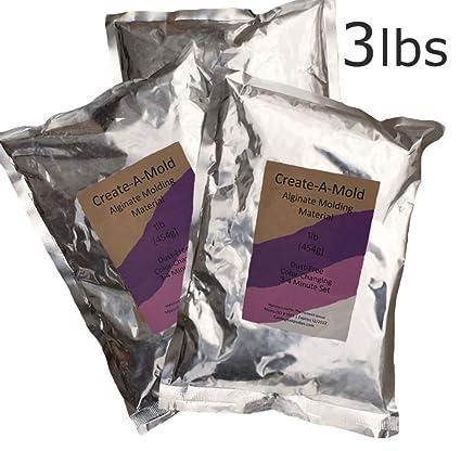 Amazon com: 3 lbs CREATE-A-MOLD ALGINATE Molding Powder LIFE