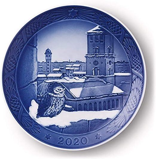 Amazon.com: Royal Copenhagen 2020 Christmas Plate: Home & Kitchen