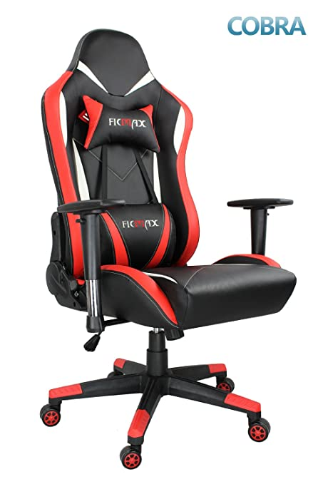 Adjustable Pu Computer Ergonomic Desk Leather Gaming Chair Pc E Sports Ficmax Red Racing High Height Back uc3lFJK15T