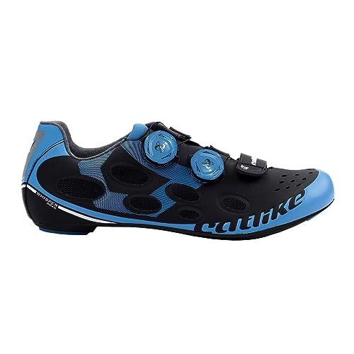 Catlike Whisper Road 2016, Zapatillas de Ciclismo de Carretera Unisex Adulto, Negro (Negro/Azul 000), 47 EU: Amazon.es: Zapatos y complementos