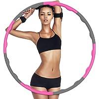 GUBOOM Hula Hoop Hoelahoep fitnessbanden voor volwassenen en kinderen voor gewichtsverlies en massage, 6-8-delige…