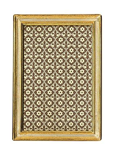 "Cavallini Papers & Co. Florentine Frame Urbino, 4"" x 6"", Crème"