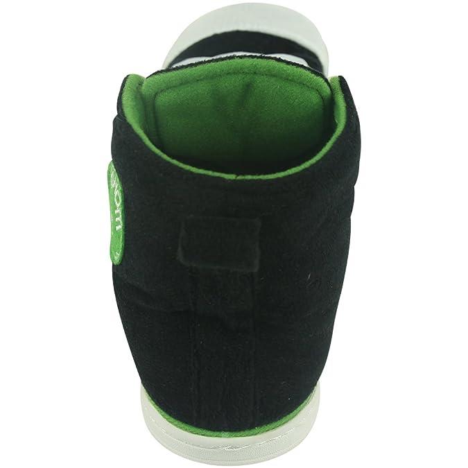 Gohom, Pantofole uomo, (Speck Black), 40 EU /(lunghezza: 27 cm)