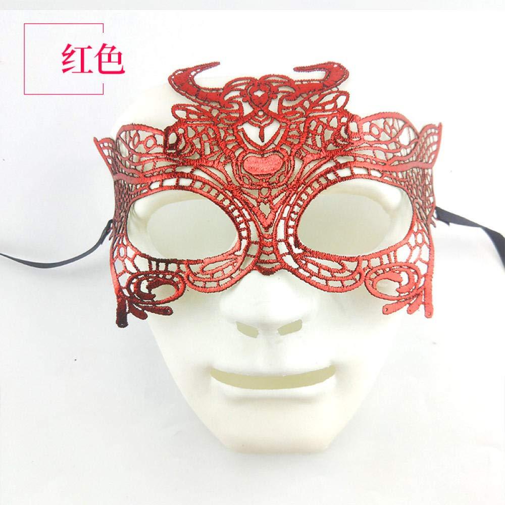 MIANJUMJ Máscara De Halloween para Mujer, Prom Sexy Tauro ...