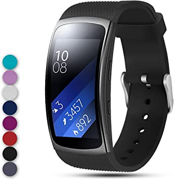 Ysang for Samsung Gear Fit2 PRO / Fit2 SM-R360 Replacement Watch Band Strap, Soft Silicone Wristband Straps Sport Band Bracelet for Samsung Gear Fit2 ...
