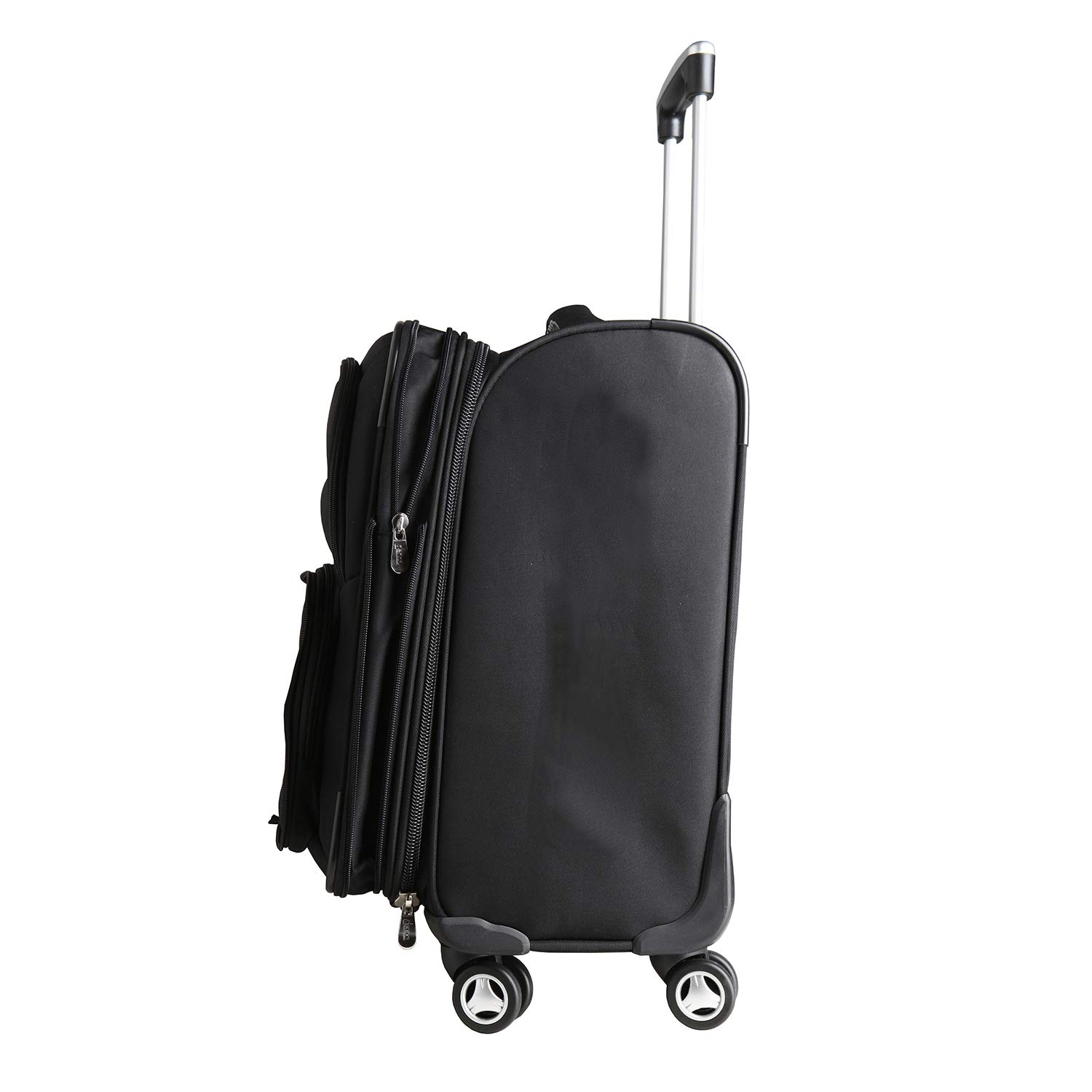 Denco NBA Charlotte Hornets Carry-On Luggage Spinner by Denco (Image #6)