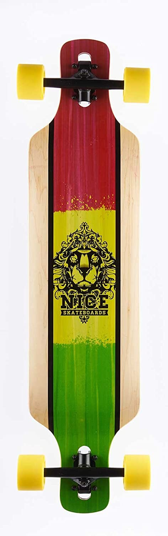 NICE Longboards Nice Blunt 38,25 x 9 Hardgoods Street Multicolore 9,5 x 39