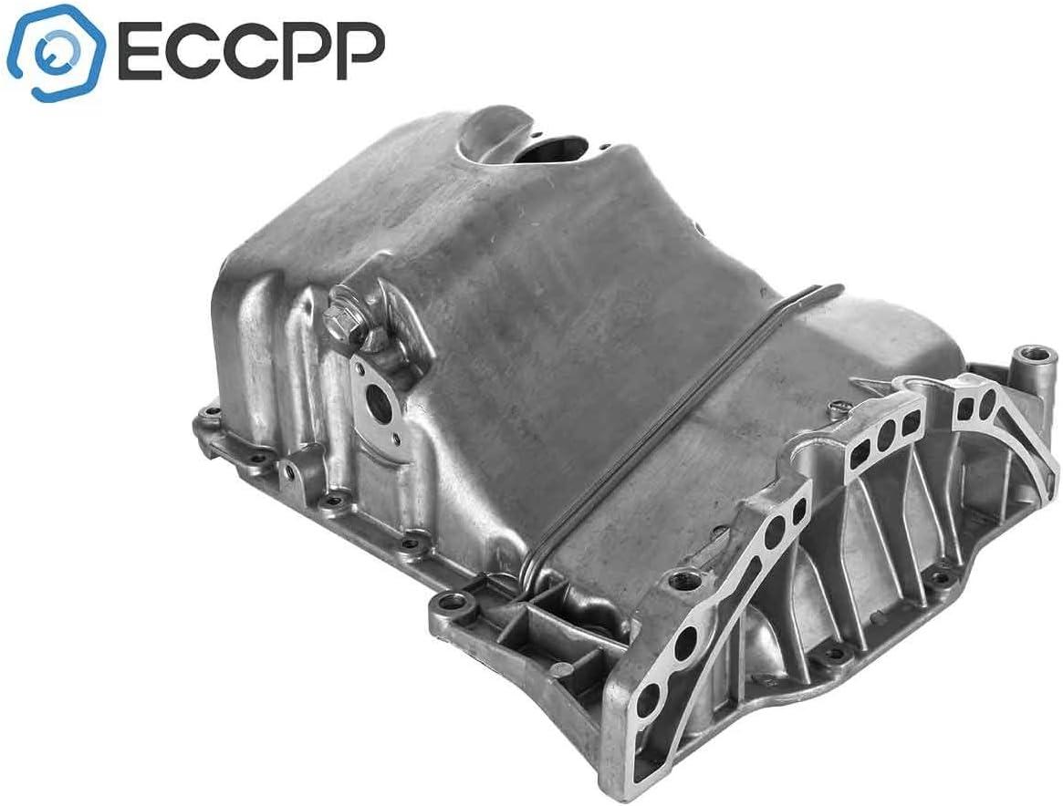 ECCPP 264-722 058103598C 058103603C Engine Oil Pan Drain Plug Kit fit for 97 98 99 00 Volkswagen Passat Audi A4 Quattro oil change pan