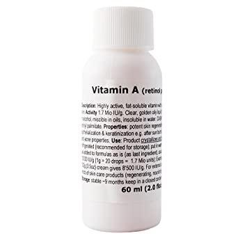 Vitamin A (retinyl palmitate) - 2.0floz / 60ml