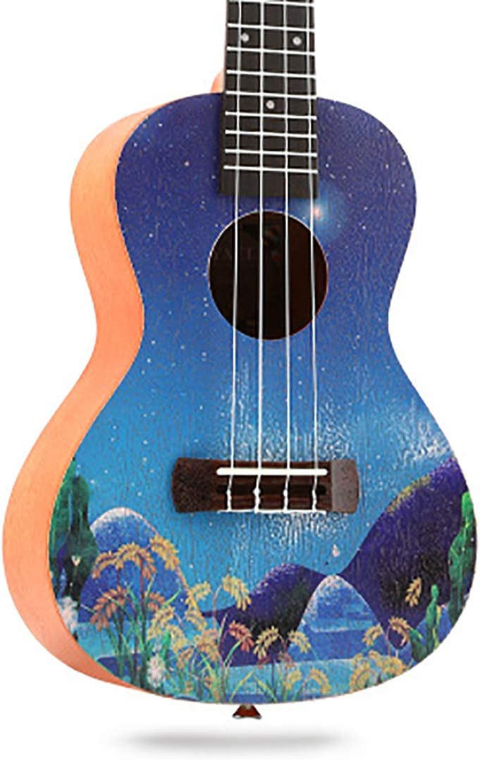 NUYI Ukelele De 23 Pulgadas Pequeño Instrumento De Guitarra ...
