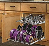 Cheap Rev-A-Shelf – 5CW2-2122-CR – 21 in. Pull-Out 2-Tier Base Cabinet Cookware Organizer