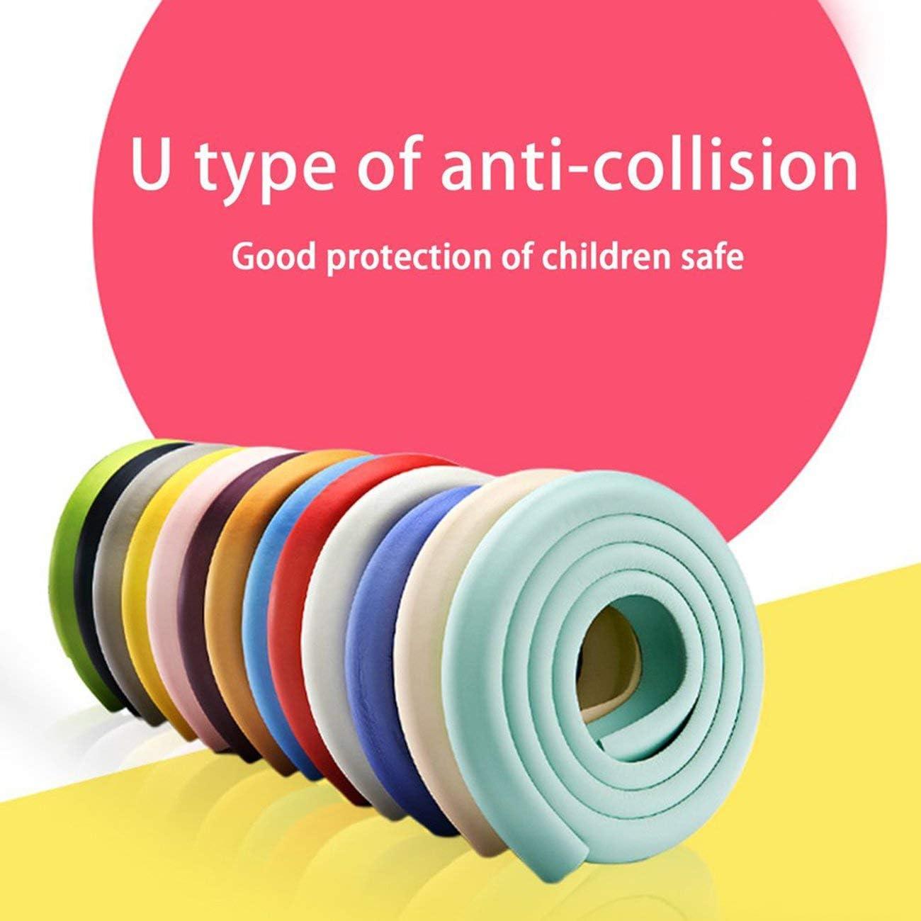 Tree-on-Life U Shape Children Baby Safety Protect Cover Glass Table Desk Edges Furniture Bar Corner Strip Crashproof Anti-collision Bumper