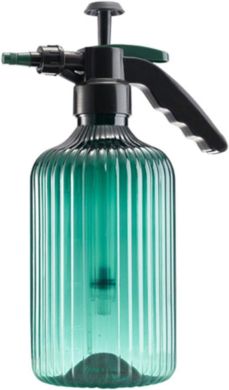 Botella De Spray Presurizada Multiusos De 68 Oz con Boquilla Ajustable De Espuma De Niebla Regadera Ajustable,Verde