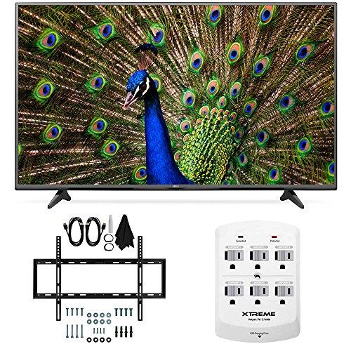 LG 49UF6400 - 49-Inch 120Hz 4K Ultra HD Smart LED TV Slim Flat Wall Mount Bundle includes 49UF6400 49-Inch 4K TV, Slim Flat Wall Mount Bundle and 6 Outlet Wall Tap w/ 2 USB Ports review