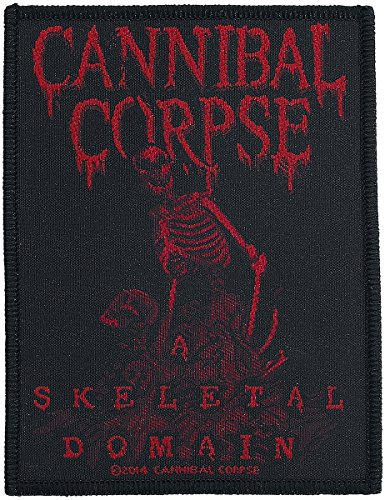 Cannibal Corpse A Skeletal Domain Patch Death Metal Music Jacket Sew On ()
