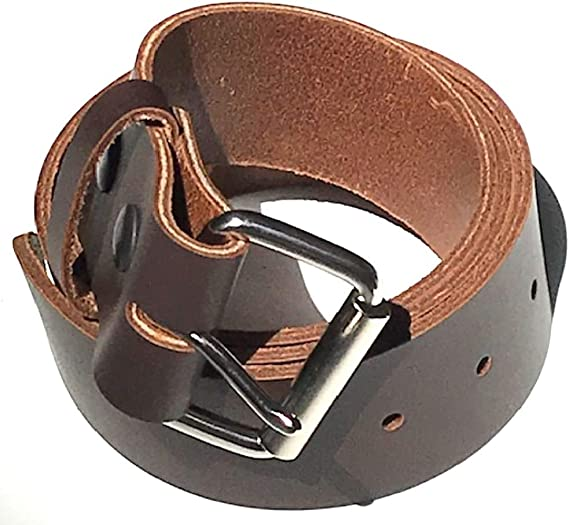 """Mens Quality Brown Leather Belt sizes 44/"""" 48/"""" 52/"""" 56/"""" 60/"""" 64/"""""""
