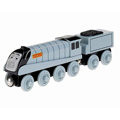 Fisher-Price Thomas & Friends Wooden Railway, Talking Spencer - Battery Operated: Toys & Games