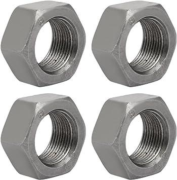 M12 x 1 in acciaio inox A2 fine pitch Hexagon Completo Dadi dado esagonale 10 Pack