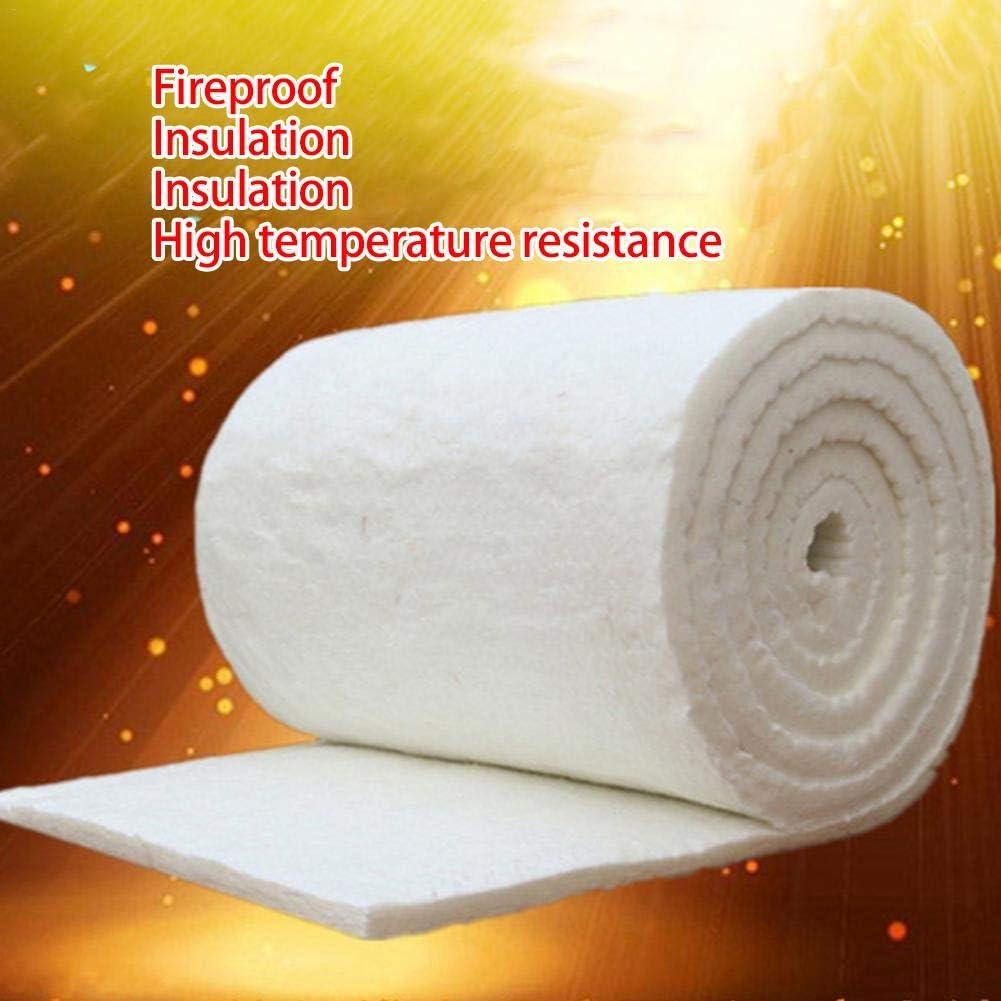Manta aislante de algodón de alta temperatura para caldera, aislante de refractario, algodón ignífugo, manta de algodón de fibra de cerámica para exteriores, multicolor