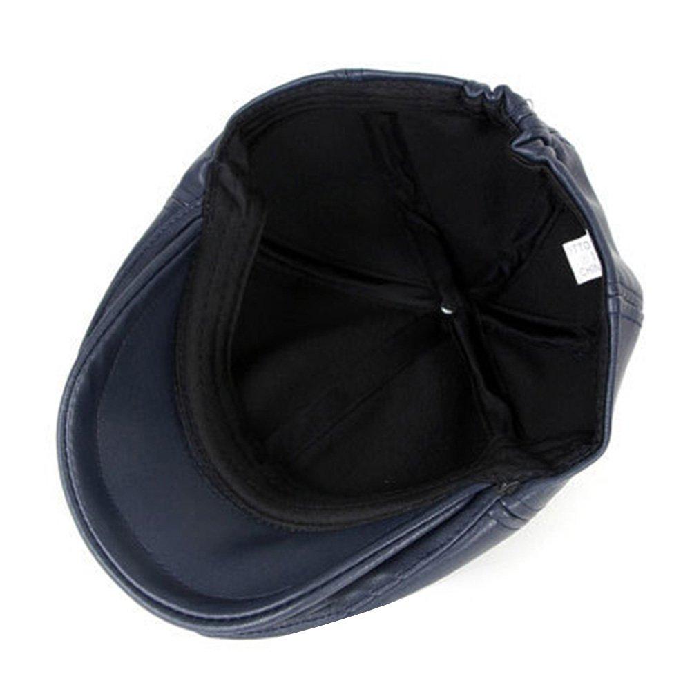 Zhhlinyuan Fashion newsboy Driving Hat Mens Vintage Denim Flat Cap CQ0467