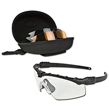 342be07e17d Oakley Sunglasses SI Ballistic M Frame® 3.0 Array Clear Grey Persimmon  Sunglasses  Amazon.co.uk  Sports   Outdoors