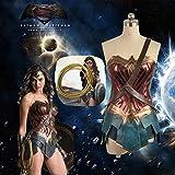 Tai'an Liuzhen Building Batman Wonder Woman Cosplay Costume Dress Skirt