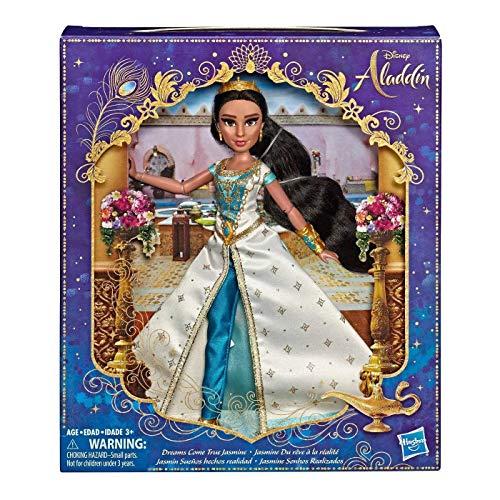 Disney Princess Dreams Come True Aladdin Jasmine Deluxe Fashion Doll