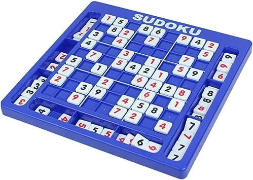 Yeshai3369 Juego de Mesa de Madera Sudoku con números de ajedrez y Rompecabezas Digital de Juguete para niños, Juguetes educativos: Amazon.es: Electrónica