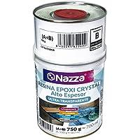 Resina Epoxi Crystal Nazza para Capas de Alto