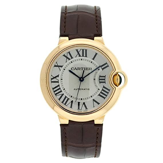 Cartier W6900356 - Reloj de Pulsera Unisex, Color Marrón: Amazon.es: Relojes
