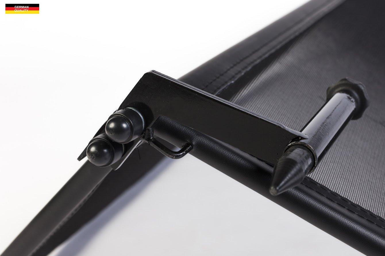 Deflettore aria Paravento per decappottabili Frangivento pieghevole nero con chiusura rapida per Volkswagen New Beetle Decappottabile 2003-2012 Deflettore del vento